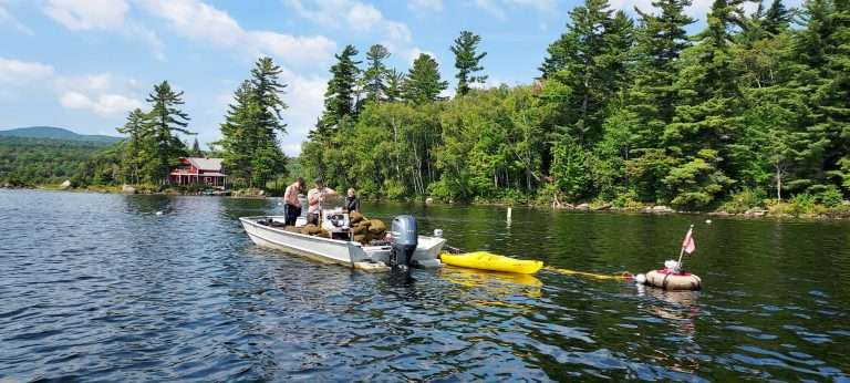 Divers returned to Chateaugay Lake