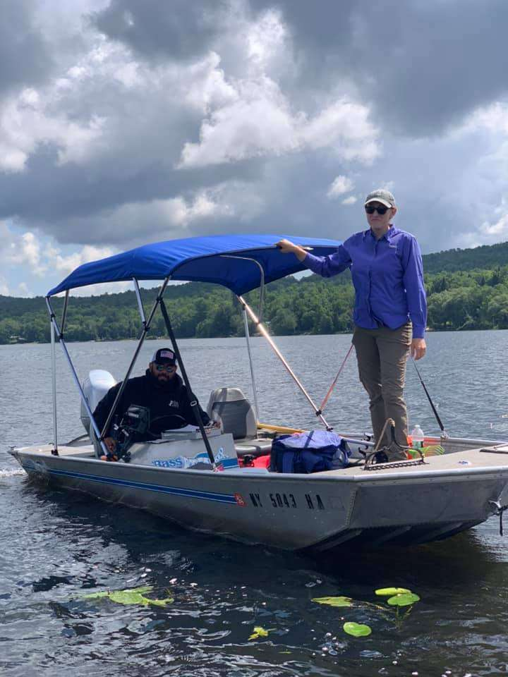 Extensive plant survey being done at Chateaugay Lake!
